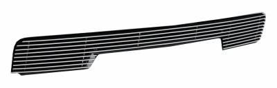 T-REX Grilles - 2014-2015 Silverado 1500 Billet Bumper Grille, Polished, 1 Pc, Overlay - PN #25117 - Image 2
