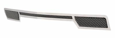 T-REX Grilles - 2014-2015 Silverado 1500 Upper Class Bumper Grille, Polished, 1 Pc, Overlay - PN #55117 - Image 2