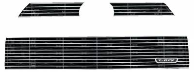 T-REX Grilles - 2007-2014 Escalade Billet Grille, Polished, 1 Pc, Insert - PN #20194 - Image 2