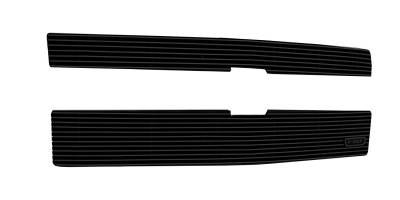 T-REX Grilles - 2014-2015 Silverado 1500 Billet Grille, Black, 2 Pc, Overlay - PN #21117B - Image 2