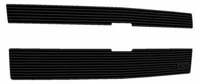 T-REX Grilles - 2014-2015 Silverado 1500 Z71 Billet Grille, Black, 2 Pc, Overlay - PN #21120B - Image 2