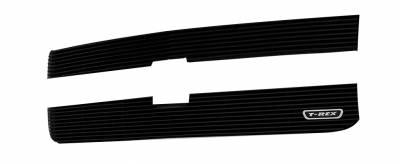 T-REX Grilles - 2015-2019 Silverado 2500, 15-17 3500 Billet Grille, Black, 2 Pc, Overlay - PN #21122B - Image 2