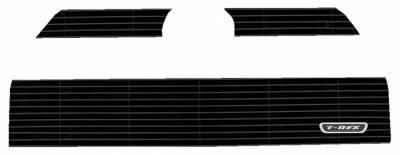 T-REX Grilles - 2014-2019 Toyota 4Runner Billet Grille, Black, 3 Pc, Overlay - PN #21949B - Image 2