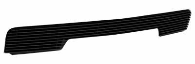 T-REX Grilles - 2014-2015 Silverado 1500 Billet Bumper Grille, Black, 1 Pc, Overlay - PN #25117B - Image 2