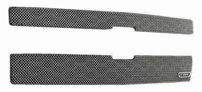 T-REX Grilles - 2014-2015 Silverado 1500 Z71 Sport Grille, Chrome, 2 Pc, Overlay - PN #44120 - Image 2