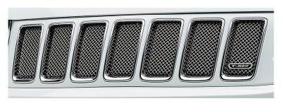 T-REX Grilles - 2014-2015 Jeep Grand Cherokee Sport Grille, Chrome, 1 Pc, Bolt-On - PN #44488 - Image 2