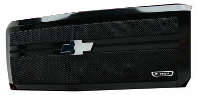 T-REX Grilles - 2014-2015 Silverado 1500 Upper Class Series Main Grille, Black, 1 Pc, Replacement, 2 Bar Design - PN #51118 - Image 3