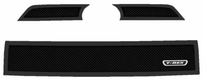 T-REX Grilles - 2014-2019 Toyota 4Runner Upper Class Grille, Black, 3 Pc, Overlay - PN #51949 - Image 2
