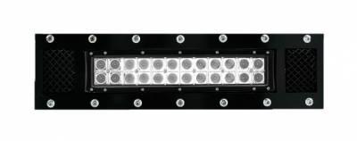 "T-REX Grilles - 2013-2014 F-150 Torch Bumper Grille, Black, 1 Pc, Bolt-On, Chrome Studs, Incl. (1) 12"" LED - PN #6325681 - Image 2"