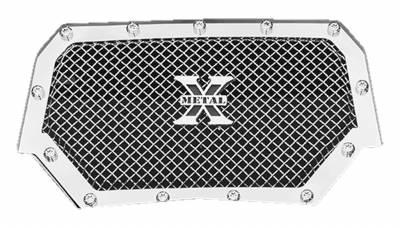 T-REX Grilles - 2014 Polaris RZR XP 1000 X-Metal Grille, Polished, 1 Pc, Insert, Chrome Studs - PN #6719010 - Image 2
