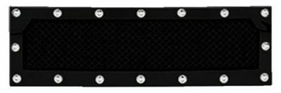T-REX Grilles - 2015-2017 F-150 X-Metal Bumper Grille, Black, 1 Pc, Insert, Chrome Studs, Eco Boost - PN #6725731 - Image 2