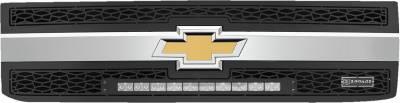"""T-REX Grilles - 2015-2019 Silverado 2500, 15-17 3500 ZROADZ Grille, Black, 2 Pc, Insert, Incl. (1) 20"""" LED - PN #Z311221 - Image 2"""