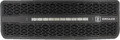 "T-REX Grilles - 2014-2015 Sierra 1500 ZROADZ Grille, Black, 1 Pc, Insert, Incl. (1) 20"" LED - PN #Z312081 - Image 2"