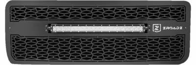 """T-REX Grilles - 2015-2019 Sierra HD ZROADZ Grille, Black, 1 Pc, Insert, Incl. (1) 20"""" LED - PN #Z312111 - Image 2"""