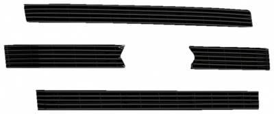 T-REX Grilles - Ford F150 XLT, Billet Grille, Main, Overlay, 4 Pc's, Black Powder Coating Aluminum Bars - Image 2