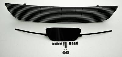 T-REX Grilles - Ford Mustang V6 Coupe,  Billet Grille, Main, Overlay, 1 Pc, Polished Aluminum Bars, No Logo cutout - Image 2