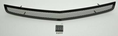 T-REX Grilles - Dodge Charger SRT Upper Class Stainless Mesh Bumper - All Black - Image 2