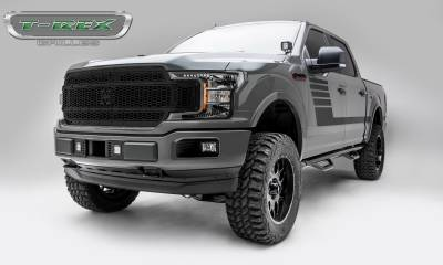 T-REX Grilles - 2018-2019 F-150 Stealth Laser X Grille, Black, 1 Pc, Replacement, Black Studs - PN #7715841-BR - Image 4