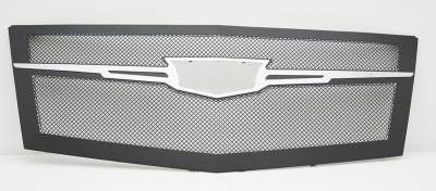 T-REX Grilles - 2015 Escalade Upper Class Series Main Grille, Black with Brushed Center Trim Piece, 1 Pc, Replacement - PN #51184 - Image 2