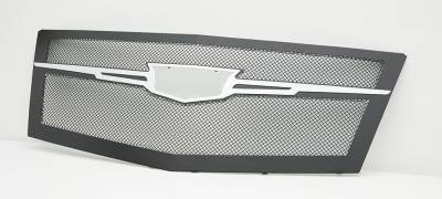 T-REX Grilles - 2015 Escalade Upper Class Grille, Black with Chrome Plated Center Trim Piece, 1 Pc, Replacement - PN #51185 - Image 4