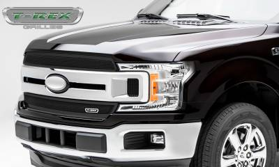 T-REX Grilles - 2018-2019 F-150 XLT, Lariat Upper Class Grille, Black, 2 Pc, Overlay/Insert - PN #51711 - Image 4
