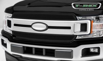 T-REX Grilles - 2018-2019 F-150 XLT, Lariat Upper Class Grille, Black, 2 Pc, Overlay/Insert - PN #51711 - Image 2