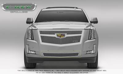T-REX Grilles - 2015 Escalade Upper Class Bumper Grille, Chrome, 1 Pc, Replacement - PN #57183 - Image 2