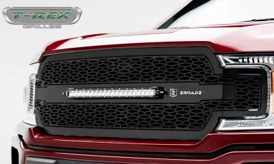 "T-REX Grilles - 2018-2019 F-150 ZROADZ Grille, Black, 1 Pc, Replacement, Incl. (1) 20"" LED - PN #Z315711 - Image 5"