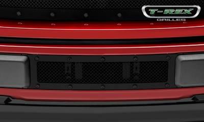 T-REX Grilles - 2018-2019 F-150 Limited, Lariat Stealth X-Metal Bumper Grille, Black, 1 Pc, Overlay, Black Studs - PN #6725791-BR - Image 2