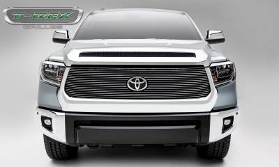 T-REX Grilles - 2018-2021 Tundra Billet Grille, Polished, 1 Pc, Replacement, Does Not Fit Vehicles with Camera - PN #20966 - Image 4