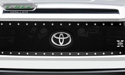 T-REX Grilles - 2018-2019 Tundra X-Metal Grille, Black, 1 Pc, Replacement, Chrome Studs - PN #6719661 - Image 4