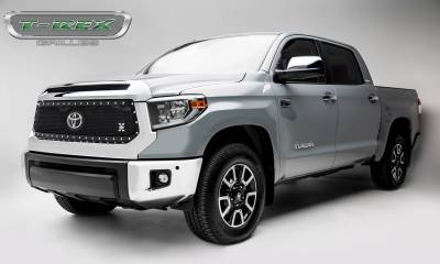 T-REX Grilles - 2018-2019 Tundra X-Metal Grille, Black, 1 Pc, Replacement, Chrome Studs - PN #6719661 - Image 2