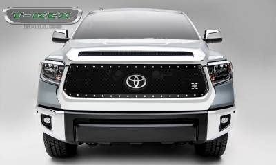 T-REX Grilles - 2018-2019 Tundra X-Metal Grille, Black, 1 Pc, Replacement, Chrome Studs - PN #6719661 - Image 3