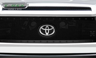 T-REX Grilles - 2018-2019 Tundra Stealth X-Metal Grille, Black, 1 Pc, Replacement, Black Studs - PN #6719661-BR - Image 3