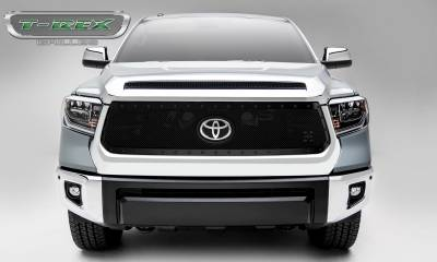 T-REX Grilles - 2018-2019 Tundra Stealth X-Metal Grille, Black, 1 Pc, Replacement, Black Studs - PN #6719661-BR - Image 2