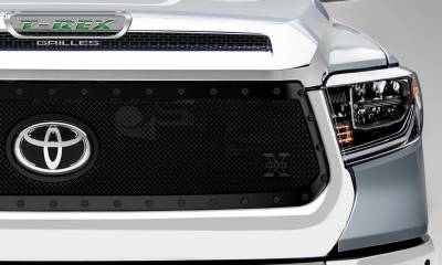 T-REX Grilles - 2018-2019 Tundra Stealth X-Metal Grille, Black, 1 Pc, Replacement, Black Studs - PN #6719661-BR - Image 4