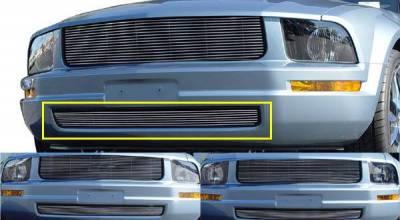 Billet Series Grilles - Ford Mustang LX Bumper Billet - LX Models 7 Bars - Pt # 25515