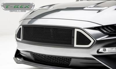 T-REX Grilles - 2018-2019 Mustang GT DJ Grille, Black, 1 Pc, Insert - PN #DJ10550 - Image 2