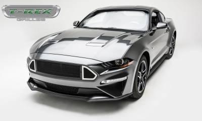 T-REX Grilles - 2018-2019 Mustang GT DJ Grille, Black, 1 Pc, Insert - PN #DJ10550 - Image 3