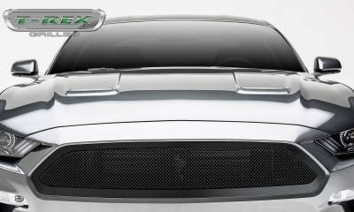 Upper Class Series Grilles - 2018 Mustang GT - Upper Class Series - Main Grille, Insert Black Powder Coated Finish  #51550