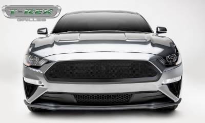T-REX Grilles - 2018-2019 Mustang GT Upper Class Grille, Black, 1 Pc, Insert - PN #51550 - Image 2