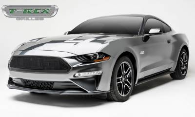 T-REX Grilles - 2018-2019 Mustang GT Upper Class Grille, Black, 1 Pc, Insert - PN #51550 - Image 4