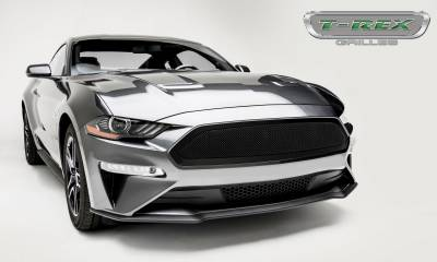 T-REX Grilles - 2018-2019 Mustang GT Upper Class Grille, Black, 1 Pc, Insert - PN #51550 - Image 5