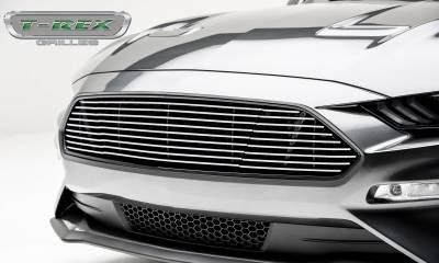 T-REX Grilles - 2018-2019 Mustang GT Billet Grille, Polished, 1 Pc, Overlay - PN #6215500 - Image 2