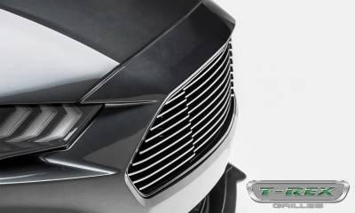 T-REX Grilles - 2018-2019 Mustang GT Billet Grille, Polished, 1 Pc, Overlay - PN #6215500 - Image 7