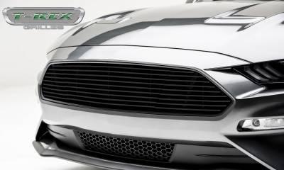 T-REX Grilles - 2018-2019 Mustang GT Billet Grille, Black, 1 Pc, Overlay - PN #6215501 - Image 5