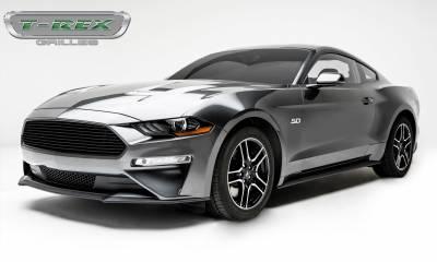 T-REX Grilles - 2018-2019 Mustang GT Billet Grille, Black, 1 Pc, Overlay - PN #6215501 - Image 4