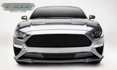 T-REX Grilles - 2018-2019 Mustang GT Billet Grille, Black, 1 Pc, Overlay - PN #6215501 - Image 3