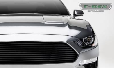 T-REX Grilles - 2018-2019 Mustang GT Billet Grille, Black, 1 Pc, Overlay - PN #6215501 - Image 2