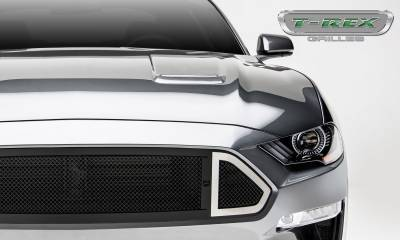 T-REX Grilles - 2018-2019 Mustang GT DJ Grille, Black, 1 Pc, Insert - PN #DJ10550 - Image 5